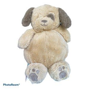 """Little Miracles Tan Brown Round Dog Puppy Soft 11"""""""